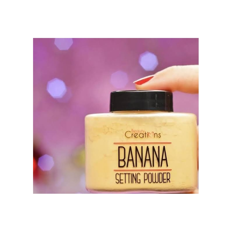 Polvo Banana original Beauty Creations